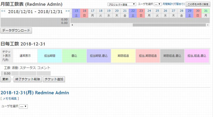 RedmineにWork Timeプラグインをインストールする手順を解説